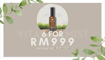 2021夏天优惠配套 - LUHAS Vitality Mist x 6 (RM999 only)